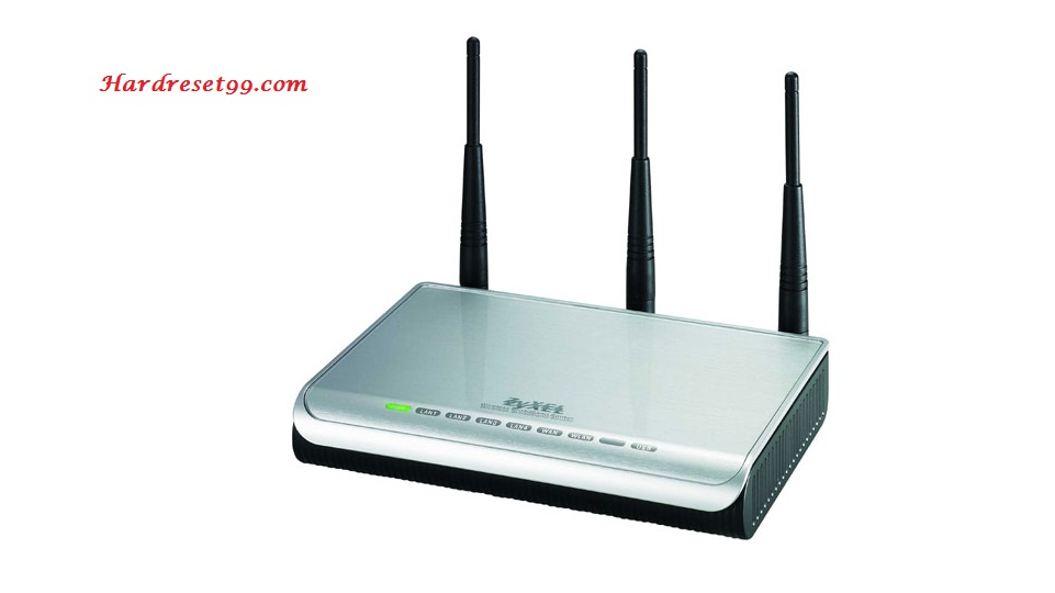 ZyXEL NBG-415N Router - How to Reset to Factory Settings