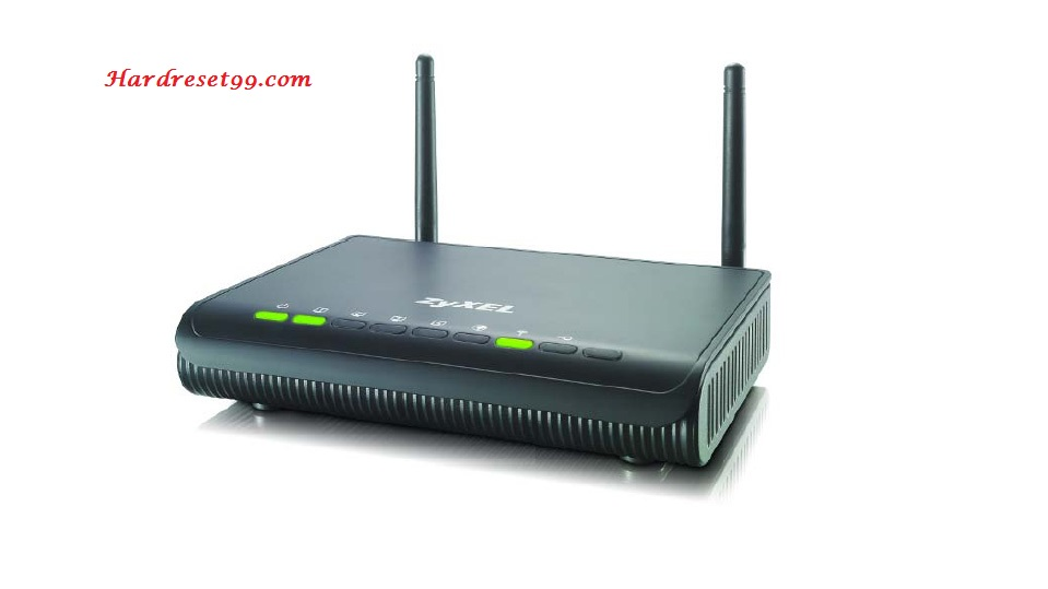 ZyXEL NBG4604 Router - How to Reset to Factory Settings
