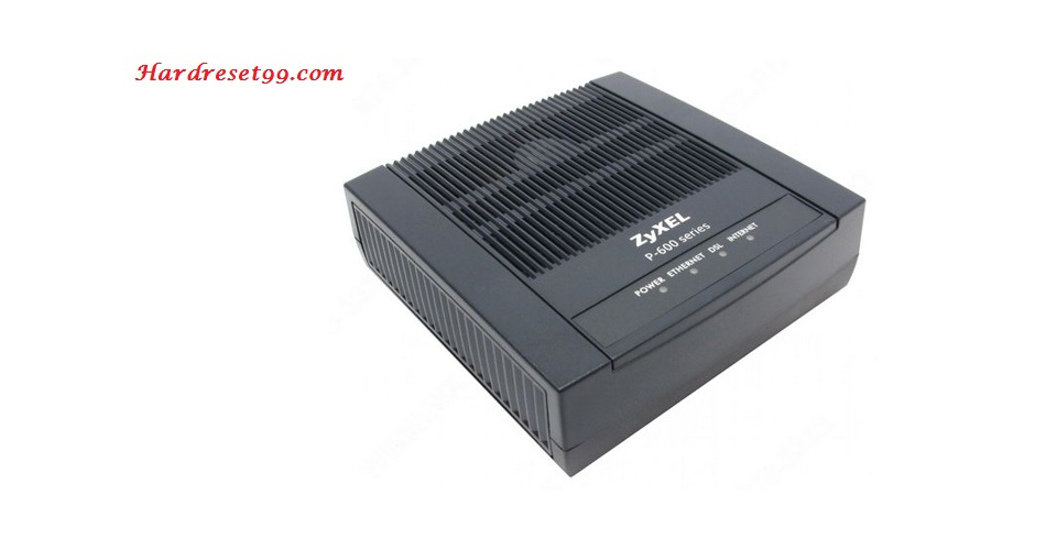 ZyXEL P-2601HN-F1 Router - How to Reset to Factory Settings