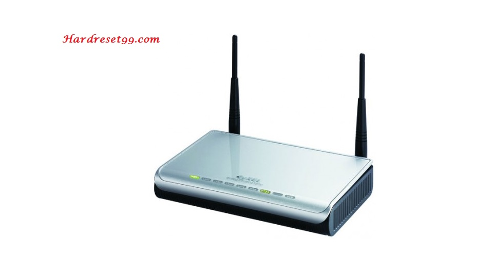 ZyXEL P-2602HWT-F1 Router - How to Reset to Factory Settings