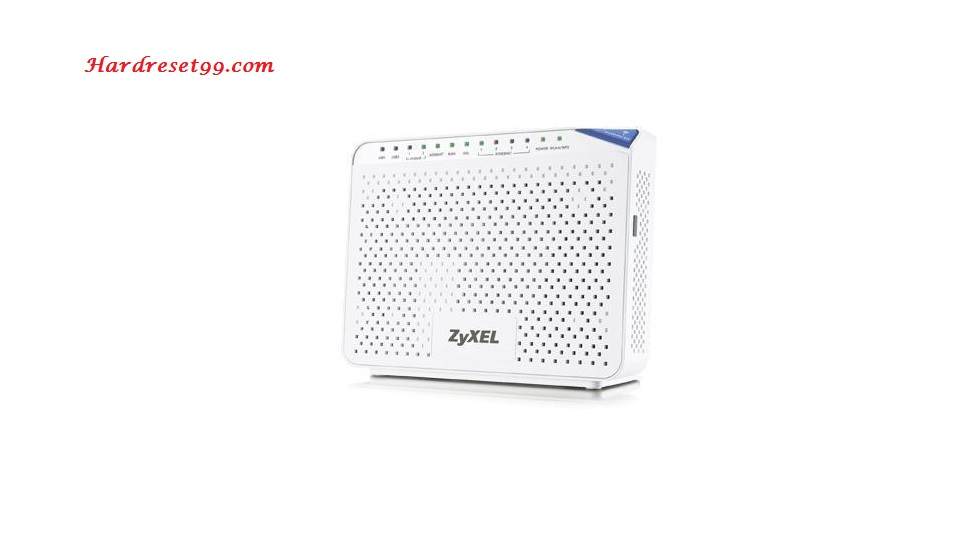 ZyXEL P-2812HNU-F3 Router - How to Reset to Factory Settings