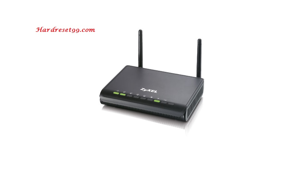 ZyXEL P324 Router - How to Reset to Factory Settings