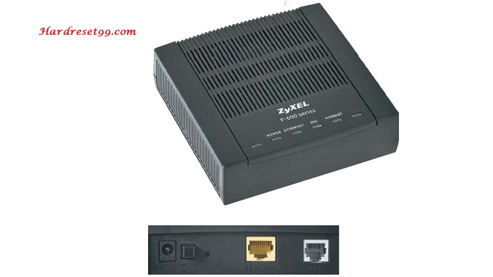 ZyXEL P660RT2 Router - How to Reset to Factory Settings