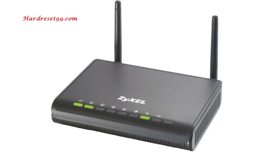 ZyXEL P8702Nv2 Router - How to Reset to Factory Settings