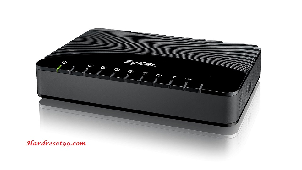 ZyXEL VMG1312-B30A Router - How to Reset to Factory Settings