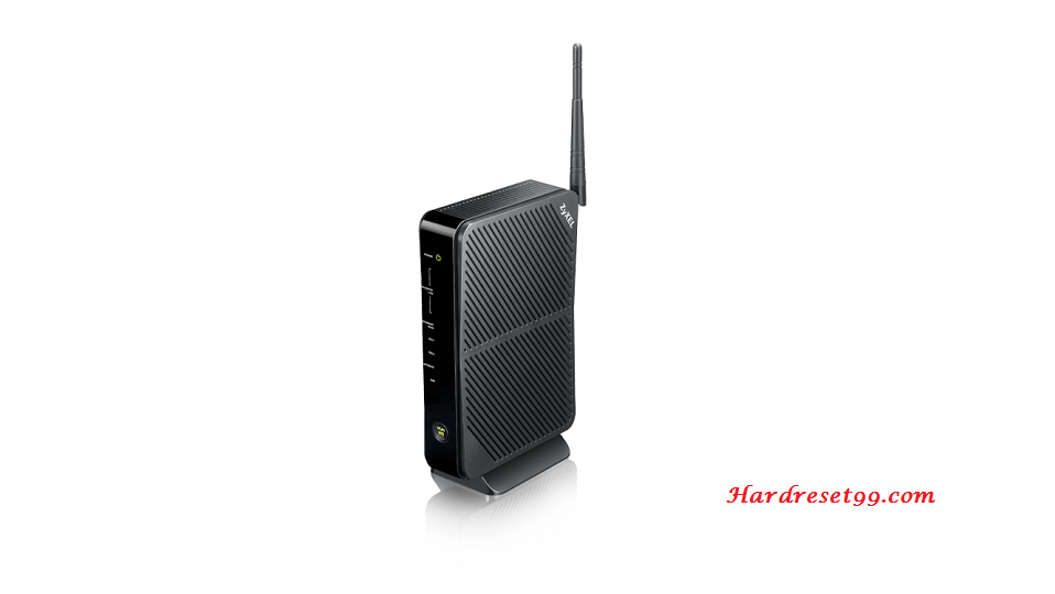 ZyXEL VMG4325-B10A Router - How to Reset to Factory Settings