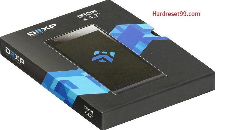 DEXP Ixion X 4.7 Hard Reset