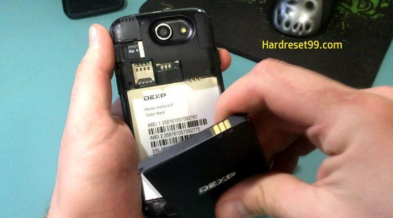 DEXP Ixion X5 Hard Reset