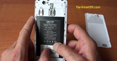 DEXP Ixion XL 5 Hard Reset