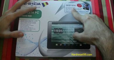 E-BODA Intelligence I100 Hard Reset
