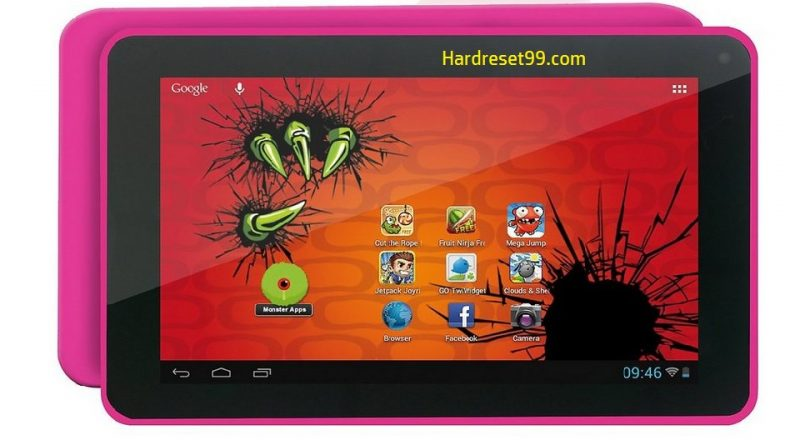 EASYPIX MonsterPad EP751 Witty Kitty Hard Reset