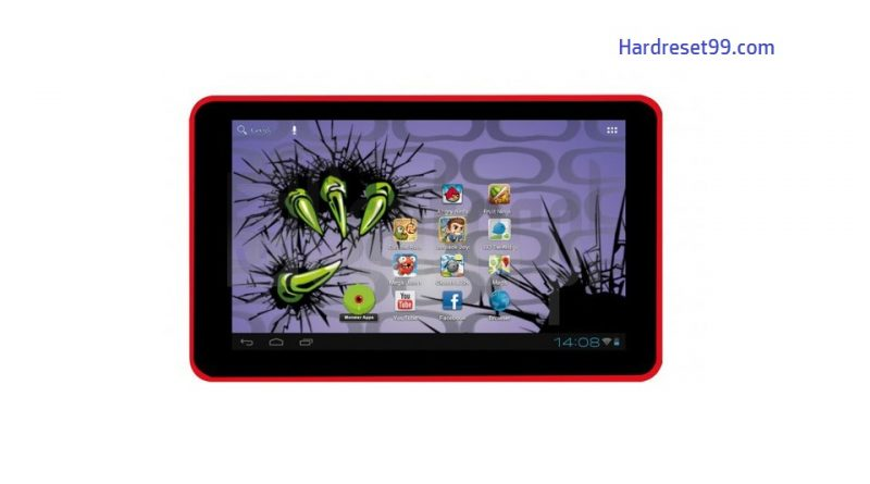 EASYPIX MonsterPad Red Ninja Dual Core Hard Reset