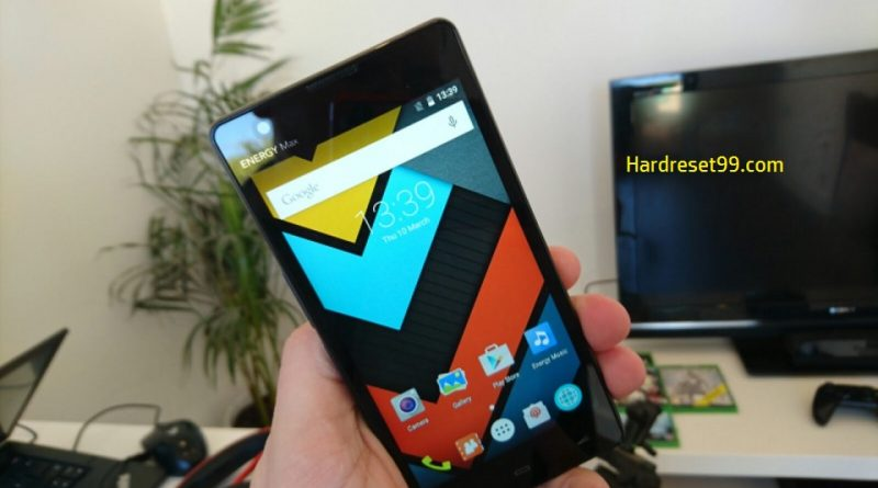 Energy Phone Max 4G Hard Reset