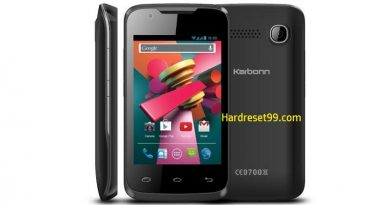 Karbonn A5 Turbo Hard Reset