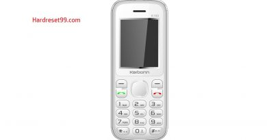 Karbonn K130 Fun Hard Reset