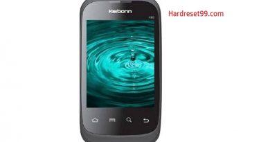 Karbonn K60 Hard Reset