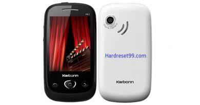 Karbonn K62 Hard Reset