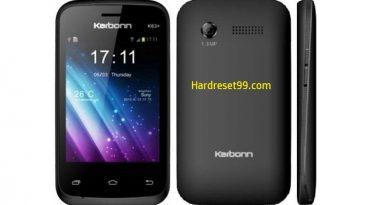 Karbonn K63 Plus Hard Reset
