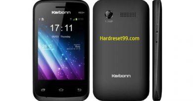 Karbonn K76 Hard Reset