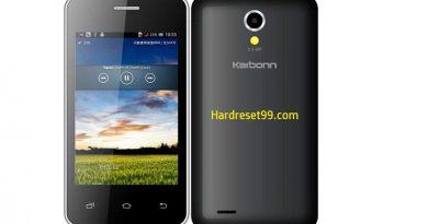 Karbonn Smart A51 Lite Hard Reset