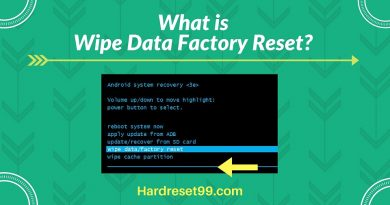 Wipe Data Factory Reset – Android Device