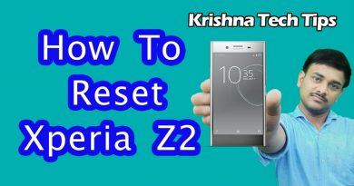 How to Hard reset Sony Xperia Z2