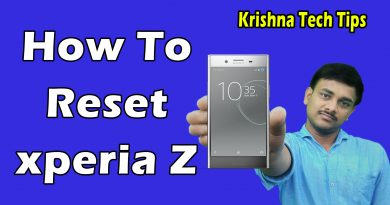 Sony Xperia Z hard reset and unlock
