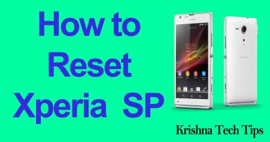 How to Factory Reset Sony Xperia SP C5303