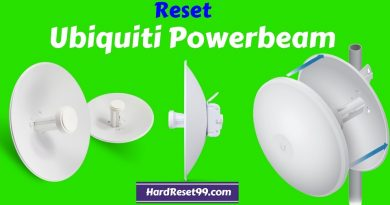 How to reset ubiquiti power beam