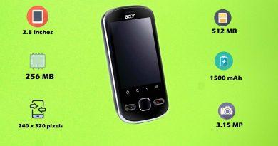 Acer beTouch E120