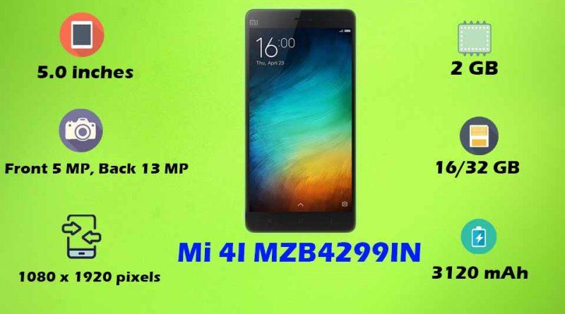 Mi 4I MZB4299IN