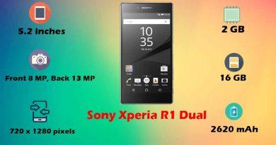 Sony Xperia R1 Dual