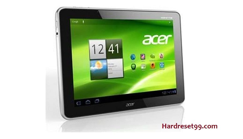 ACER A511 Iconia Tab Features