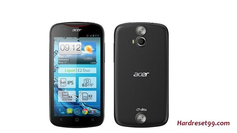 Acer Liquid E2 Duo Features