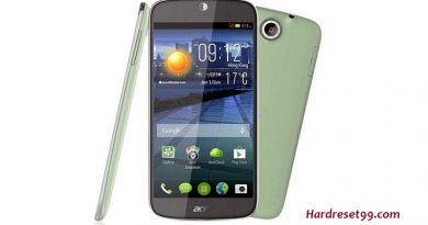 Acer Liquid Jade features