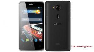 Acer Liquid Z4 Features